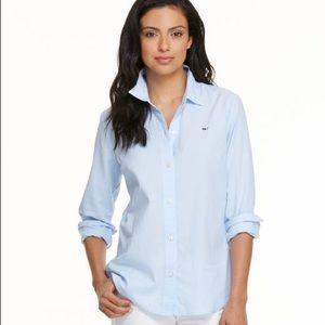 Vineyard Vines Women's Libby Oxford Shirt Sz 2